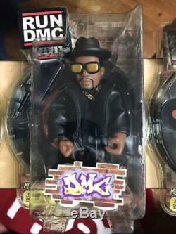 Run Dmc figure hip hop Figure not opened Adidas Hip Hop 3box Mezco Toyz LLC
