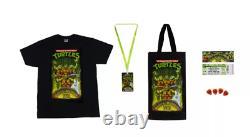 SDCC 2020 NECA Ninja Turtles Musical Mutagen Tour Bundle TMNT Sz Medium In Hand