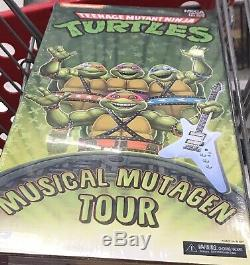 SDCC 2020 NECA TMNT Musical Mutagen Tour 4 Pack NEW
