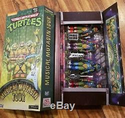 SDCC 2020 NECA TMNT Musical Mutagen Tour Bundle 4-Pack Ninja Turtles figure set