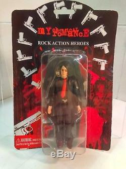 SEG My Chemical Romance Gerard Way Action Figure (2005) RARE