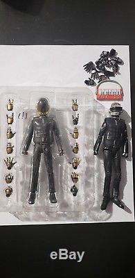 SH Figuarts Daft Punk Guy Manuel & Thomas Bangalter figure BANDAI 2013 SET