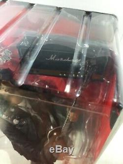 SLASH GUNS N ROSES McFarlane Toy Action Figure Gibson Les Paul Marshall Amp