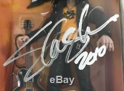 SLASH Signed Guitar Hero GUNS N' ROSES McFARLANE Action FIGURE Rock Toy PSA/DNA