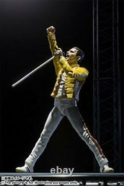 S. H. Figuarts Freddie Mercury Queen Action Figure BANDAI Bohemien Rhapsody