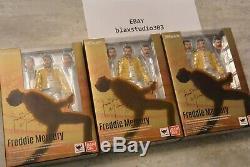 S. H Figuarts Freddie Mercury Queen Figurine NEUF Original Bohemian Rhapsody SH