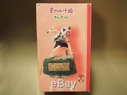 Sale Ghibli Princess Mononoke San Music Box Figure Benelic From Japan Free Ship