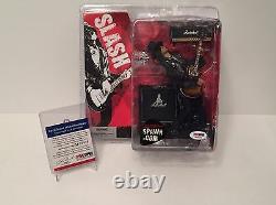 Saul Hudson'Slash' Signed Guns N' Roses McFarlane Action Figure PSA M96030