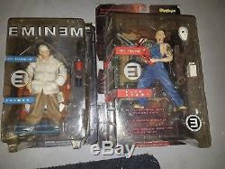 Sealed Eminem/Slim My Name is Eminem Figure Dolls Art Asylum 2001