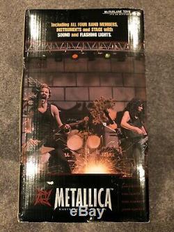 Sealed New Metallica Harvesters Of Sorrow Stage Box Figures McFarlane Toys NIB
