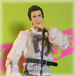 Sex Pistols 12 inch Action Figure Johnny Rotten The Doll Works