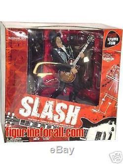 Slash GNR Guns-N-Roses McFarlane Deluxe Box Action Figure