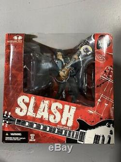 Slash (Guns N' Roses) Action Figure, Deluxe Box Set, McFarlane Toys, NIB
