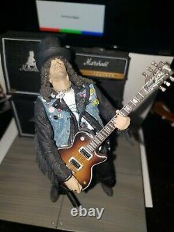 Slash Guns'n'Roses Deluxe Boxed Figure McFarlane Spawn. Com GnR Snakepit Velvet