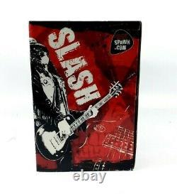 Slash Guns'n'Roses Deluxe Boxed Figure McFarlane Spawn. Com RARE