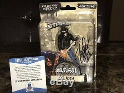 Slash Rare Signed Limited Edition MOC Action Figure Statue BAS COA Guns N Roses