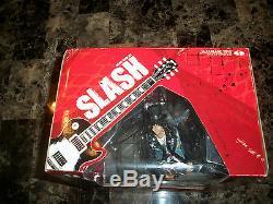 Slash Rare Signed McFarlane Deluxe Action Figure Toy Box Set Guns N' Roses + COA