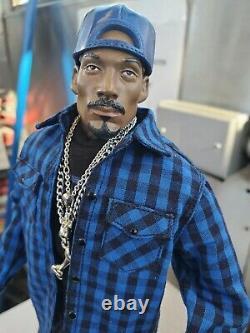 Snoop Dogg 13 Figure Custom outfit 2chains LA hat & blue chucks Vital Toys