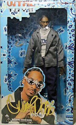 Snoop Dogg'Little Junior' 13 Action Figure Display Box Vital Toys 2002 #SD01D