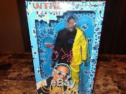 Snoop Dogg Rare Signed Limited Edition Action Figure Doll Rap Hip Hop COA Photo