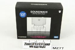 Soundwave MP3 Player Spark Blue withbox Music Label Series Transformers