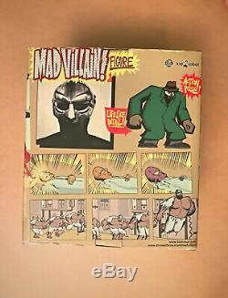 Stones Throw X Kidrobot RARE Green Madvillain/MF Doom/Madlib Figure/Box