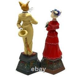 Studio Ghibli Whisper of the Heart Set of Baron & Luise Music Box Benelic NEW JP