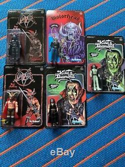 Super7 Action Figures Motörhead King Diamond Slayer Star Wars Size ReAction Fate