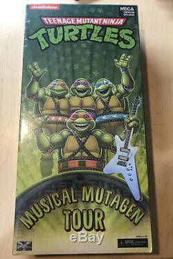 TMNT SDCC Exclusive Musical Mutagen Tour Figures Teenage Mutant Ninja Turtles