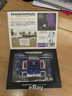 Takara Tomy music label Transformers Soundwave audio music player. Getting rare