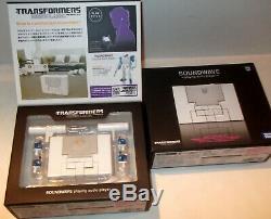 Takara Transformers Music G1 Soundwave MP3 Player BLASTER RARE WHITE Version
