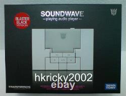 Takara Transformers Music Label Soundwave MP3 Player Figure (Blaster Black Ver)