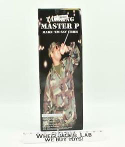 Talking Master P Make Em Say Uhhh NEW MISB DSK Action Figure