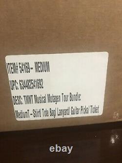 Teenage Mutant Ninja Turtles Musical Mutagen Tour Bundle Figure 4 Pk Tshirt M