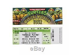 Teenage Mutant Ninja Turtles Musical Mutagen Tour Bundle Figure 4 pk T-Shirt M