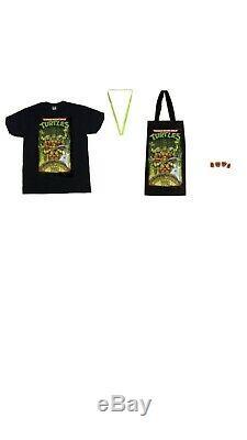 Teenage Mutant Ninja Turtles Musical Mutagen Tour Bundle Figure 4pk Tshirt XL