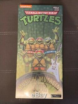 Teenage Mutant Ninja Turtles Musical Mutagen Tour Bundle Figure & Tshirt Sz MED