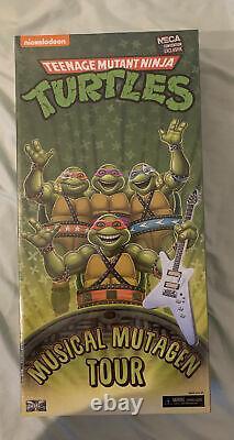 Teenage Mutant Ninja Turtles Musical Mutagen Tour NECA 2020 Convention MISB