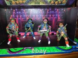 Teenage Mutant Ninja Turtles NECA Musical Mutagen Tour