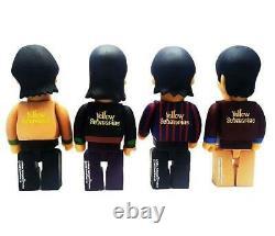 The Beatles 400% Yellow Submarine 12 Figures Set of 4 020