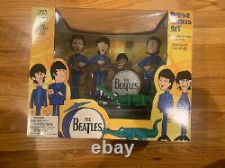 The Beatles Cartoon Action Figures McFarlane 2004 Complete Set