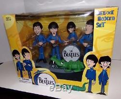 The Beatles McFarlane Deluxe Animation Box Set New In Box Rare
