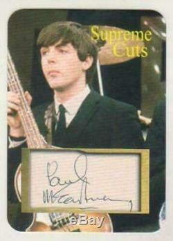 The Beatles / Paul Mccartney / Genuine Hand-signed Action Figure / Jsa # Y80998