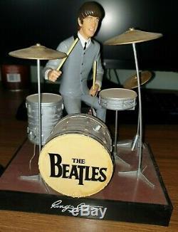 The Beatles Set Of 4 Figures (1991 Hamilton)