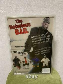 The Notorious B. I. G. Action Figure New Mezco Blue With MIC