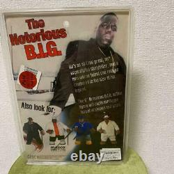 The Notorious B. I. G. Action Figure New Mezco White With MIC