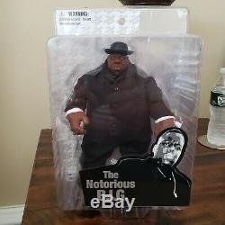 The Notorious B. I. G. Biggie 9 action figure Black suit ver. Mezco 2006