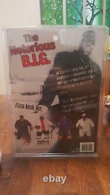 The Notorious B. I. G. Biggie Smalls 9 Figure In Black 2006 Mezco NIB NRFB GOAT