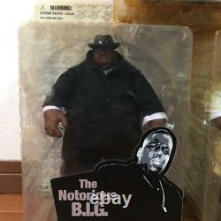The Notorious B. I. G. MEZCO Biggie Figure 3 Set Colletion Hobby Doll With Box