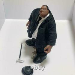 The Notorious B. I. G. MEZCO Notorious Biggie Figure Used Black